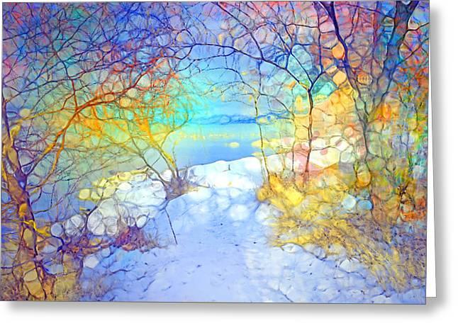 Winter Joy Greeting Card by Tara Turner