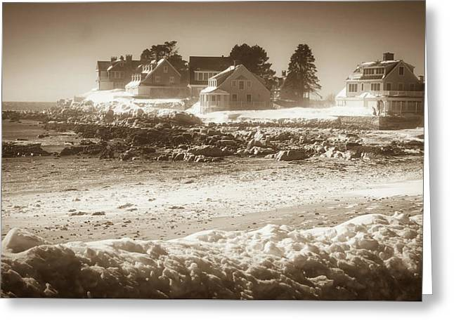 Winter - Lord's Point - Kennebunk Greeting Card
