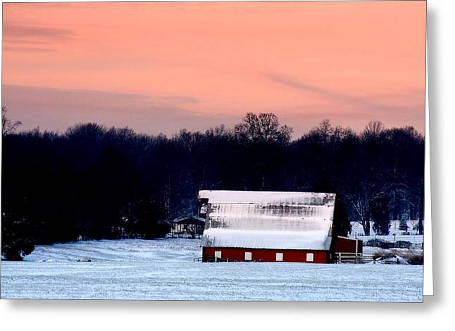 Winter Morn Greeting Card