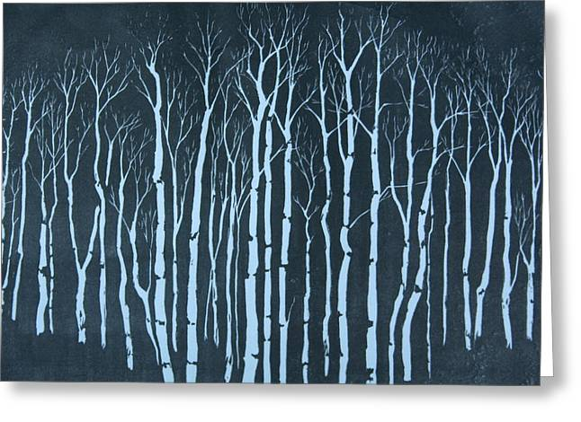 Winter Greeting Card by Pati Hays