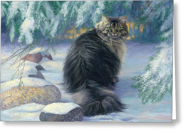 Winter Place Greeting Card