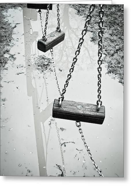 Winter Playground Greeting Card