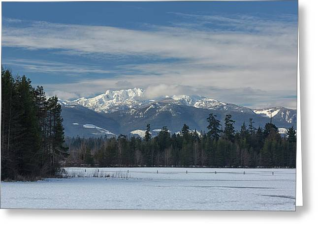 Greeting Card featuring the photograph Winter by Randy Hall
