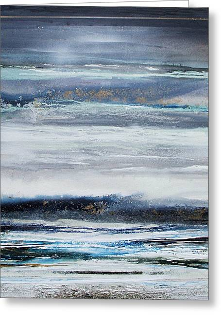 Winter Rhythms Redesdale Blue Series 2009 Greeting Card by Mike   Bell