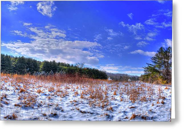 After The Snow Greeting Card