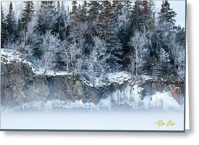Winter Shore Greeting Card