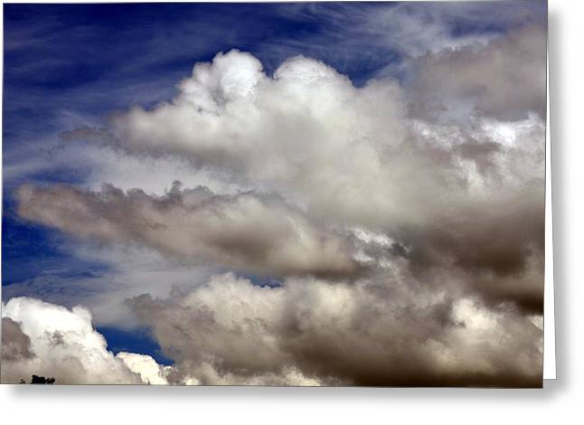 Winter Snow Clouds Greeting Card