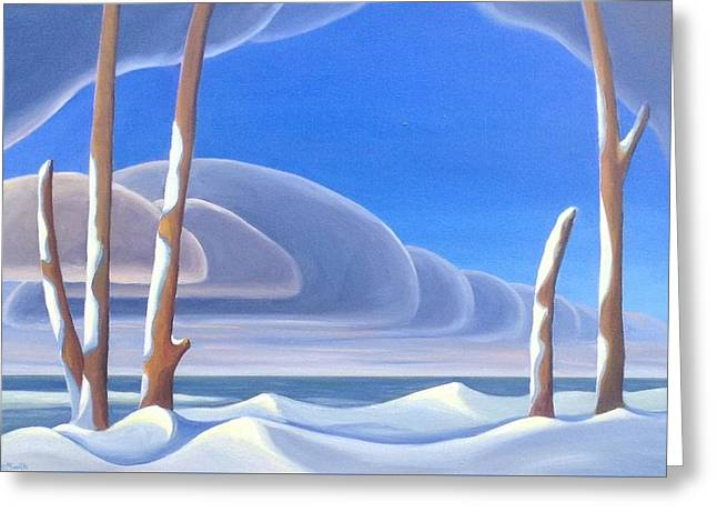 Winter Solace Greeting Card