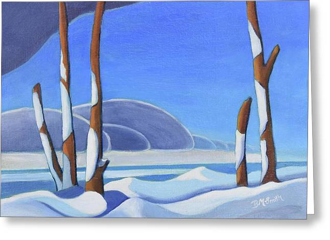 Winter Solace II Greeting Card
