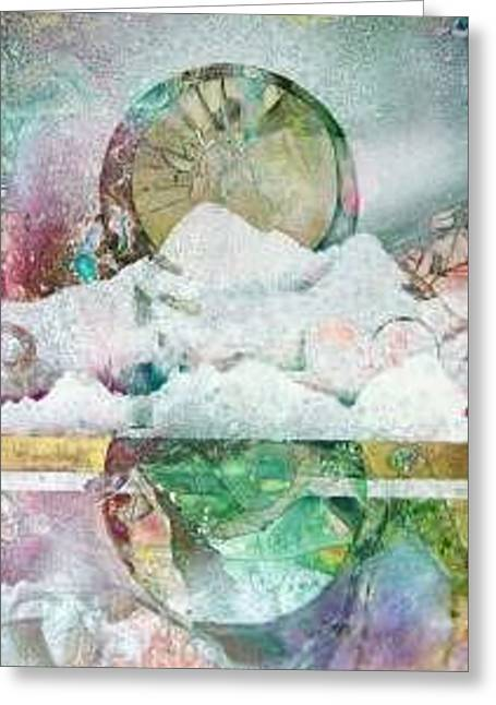 Winter Solstice Greeting Card by Marlene Gremillion