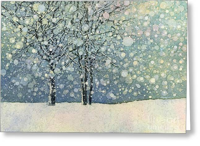 Winter Sonnet Greeting Card by Hailey E Herrera