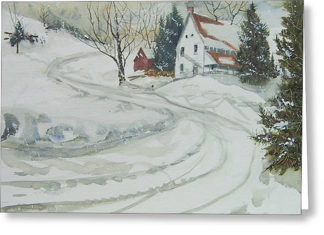 Winter Start Greeting Card
