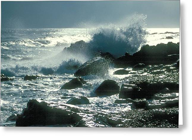 Greeting Card featuring the photograph Winter Storm by Douglas Pike