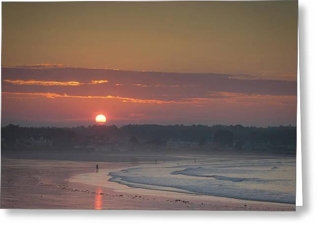 Winter Sunrise - Kennebunk Greeting Card