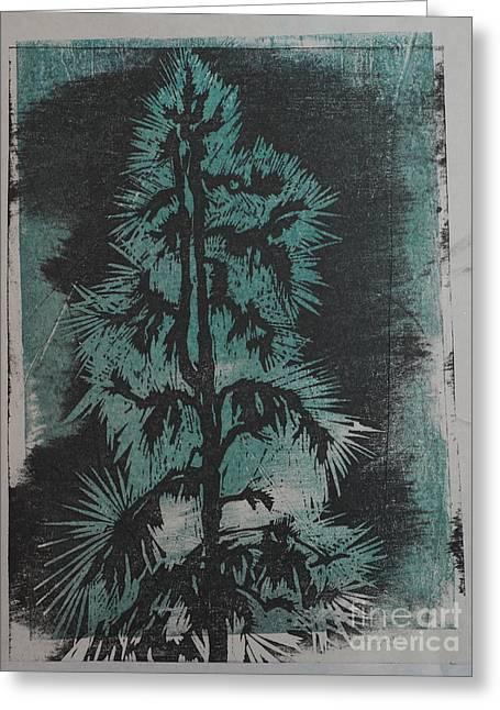 Winter Tree Greeting Card by Crafty Daniel