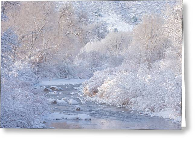 Winter Wonderland - Colorado Greeting Card