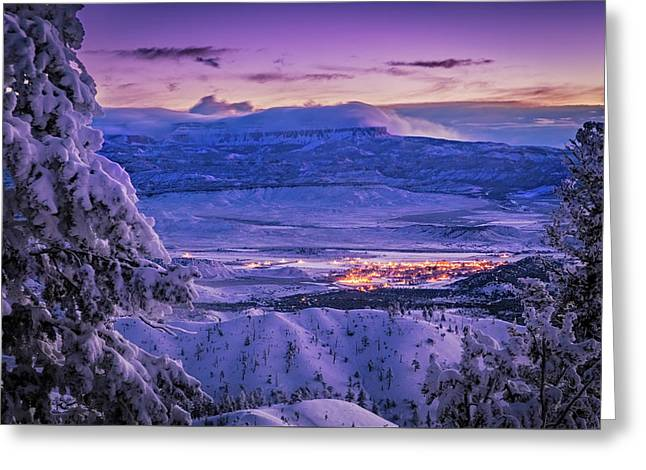 Winter Wonderland Greeting Card by Edgars Erglis
