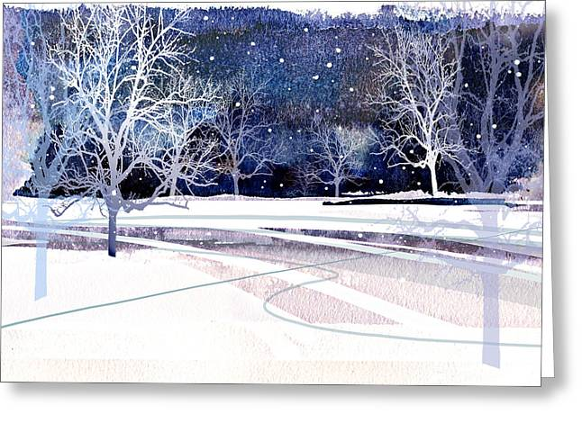 Winter Wonderland Greeting Card by Paul Sachtleben