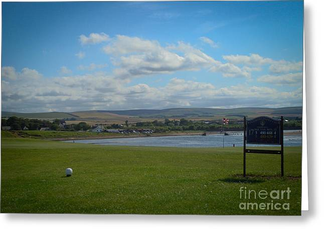 Winterfield Golf Club Greeting Card