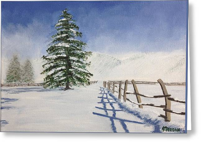Winter's Beauty Greeting Card