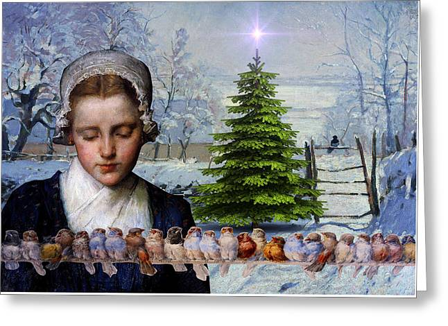 Winters Past Greeting Card