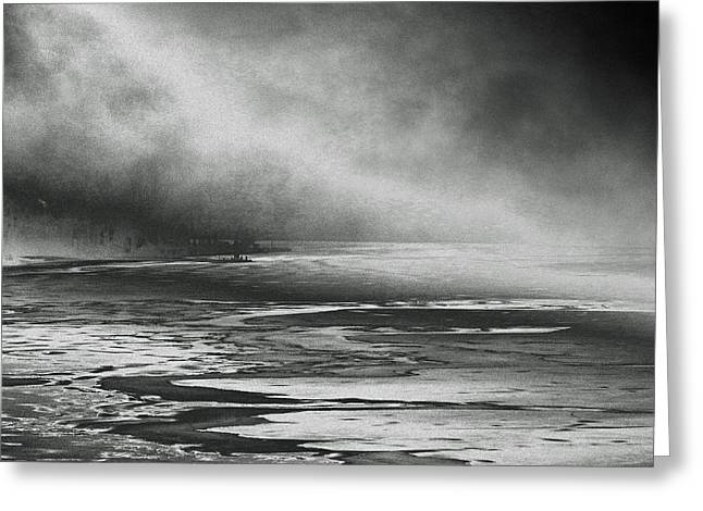 Greeting Card featuring the photograph Winter's Song by Steven Huszar