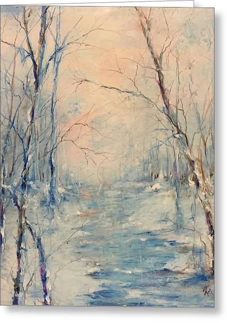 Winter's Soul Greeting Card