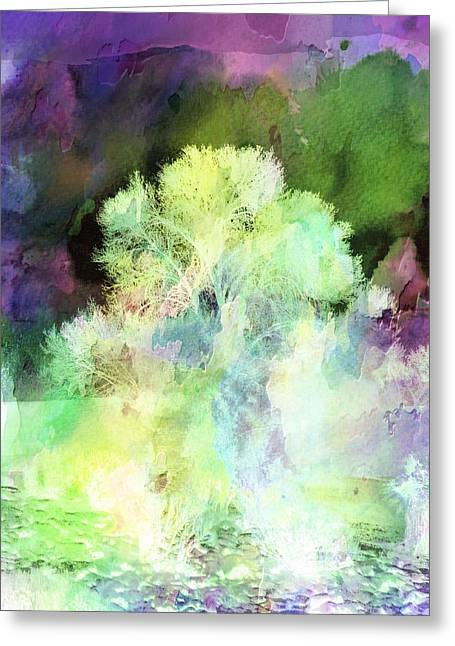Winters Storm Greeting Card