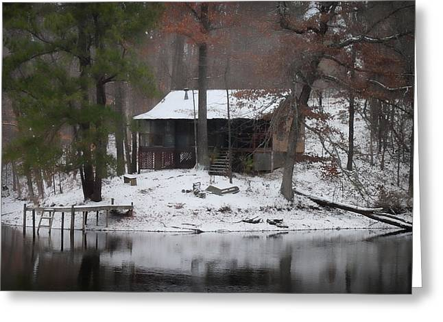 Winters Touch - Best Seller - Artist Cris Hayes Greeting Card