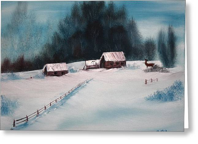 Winterscene Greeting Card