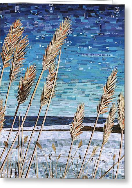 Wintertime On Lake Erie Greeting Card
