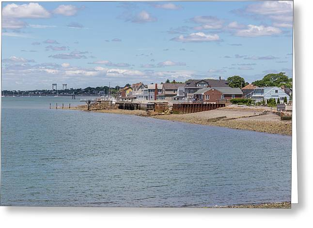 Winthrop From Deer Island Greeting Card by Brian MacLean