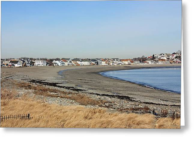 Winthrop Ma Greeting Card by Becca Brann