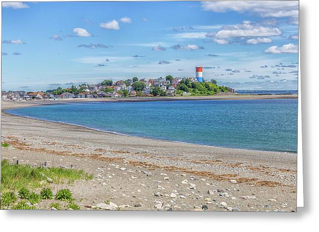 Winthrop Massachusetts  Greeting Card by Brian MacLean