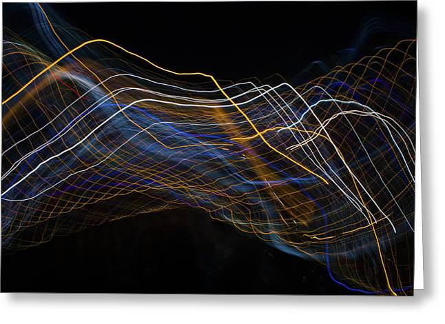Wired Greeting Card by Justin Pernas