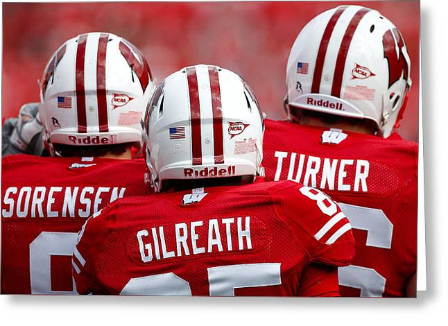 Wisconsin Players Greeting Card