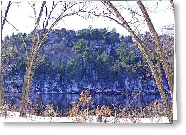 Wisconsin River 3 Greeting Card by Dave Dresser
