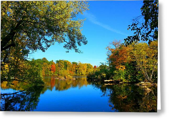 Wisconsin River Colors 2 Greeting Card