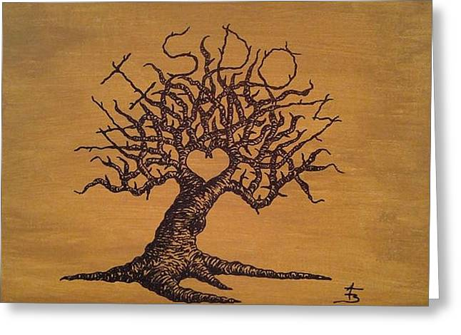 Wisdom Love Tree Greeting Card