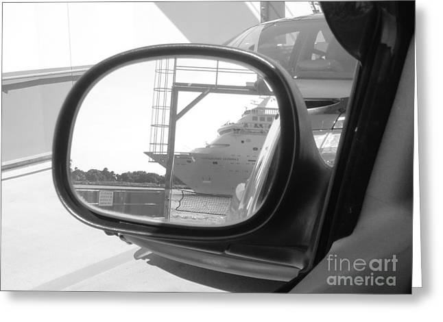wish I was on that cruise ship... Greeting Card by WaLdEmAr BoRrErO