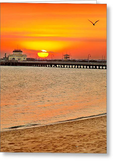 Beach Photograph Greeting Cards - Wish You Were Here Greeting Card by Az Jackson