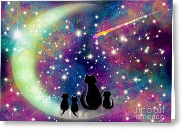 Wishing Upon A Star  Greeting Card by Nick Gustafson