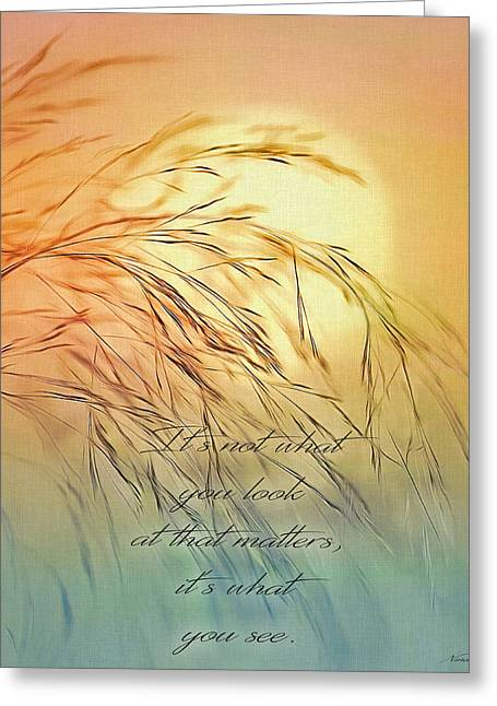 Wispy Sunset-7 Greeting Card