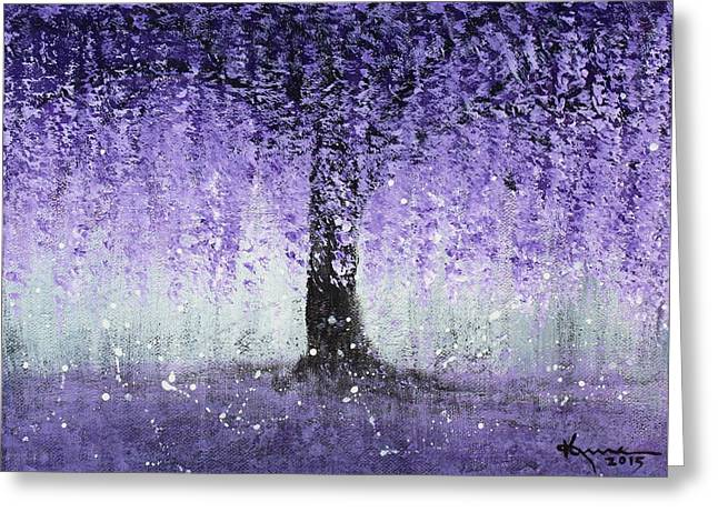 Wisteria Dream Greeting Card