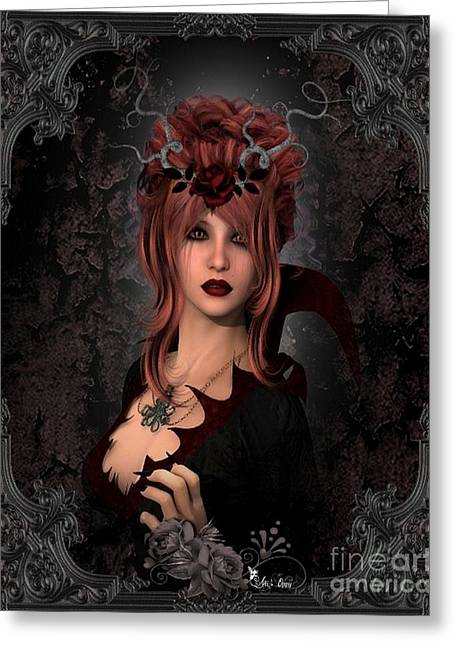 Witch Beauty Greeting Card