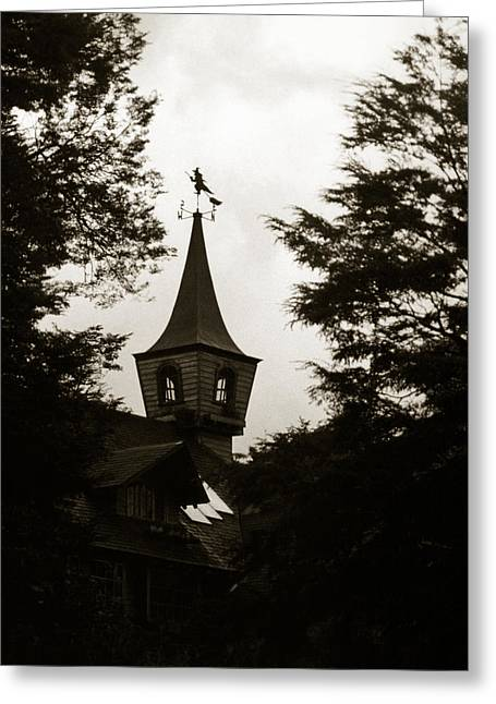 Witch House Greeting Card by Amarildo Correa