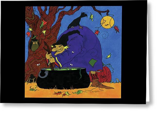Witch's Brew Greeting Card