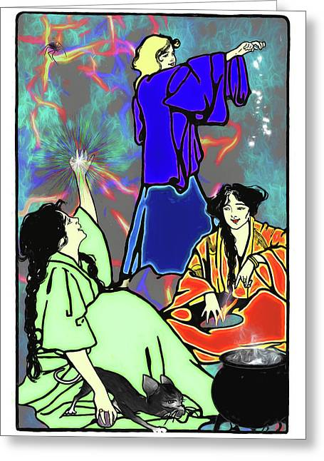 Witchs Destiny Greeting Card