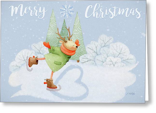 With All My Heart - Christmas Art Greeting Card