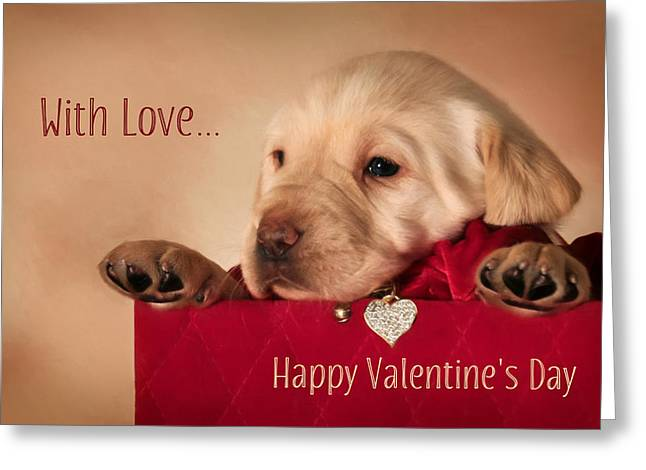 With Love Greeting Card by Lori Deiter